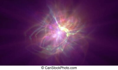 Star ray nebula clouds 4k - Star ray nebula clouds abstract ...