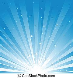 Star Rays Background