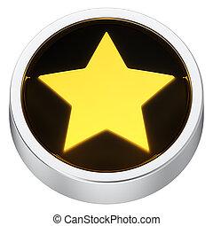 Star round icon