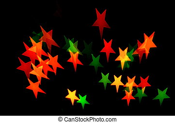 star shape lights