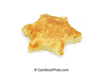 star shape pancake