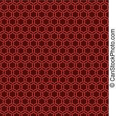 star shape pattern background design