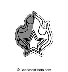 Star shape symbol