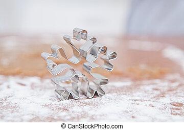 Star shaped gingerbread cutter