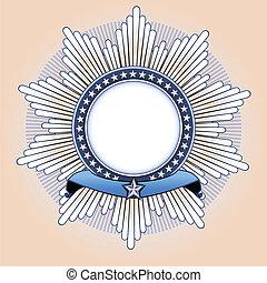 star shaped Insignia