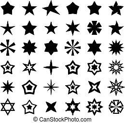 Star Sign - Star sign set for your design