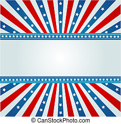 Star Spangled Banner - A patriotic background for Fourth of...