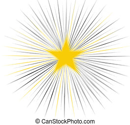 Star - Abstract of a Star