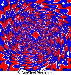 Star Swirl  (motion illusion)