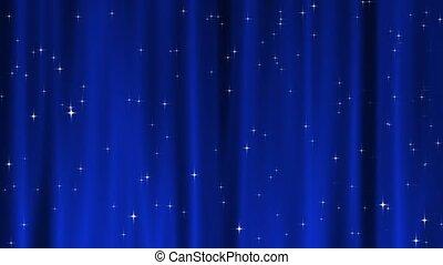 Star Tapestry Blue Loop