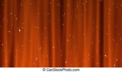 Star Tapestry Orange Loop