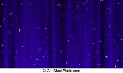 Star Tapestry Purple Loop
