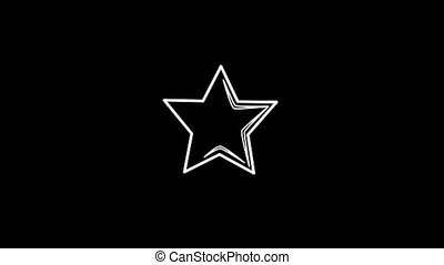 Star Thin Icon With Alpha Channel - Business and Startup...