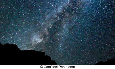 Star Time Lapse - Time Lapse of Milky Way Galaxy Moving ...