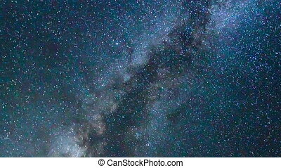 star timelapse - Star Time Lapse, Milky Way Galaxy at Night