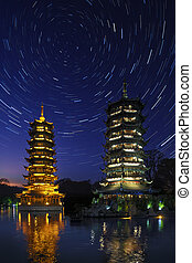 Star Trails - Guilin - China