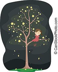Star Tree Kid