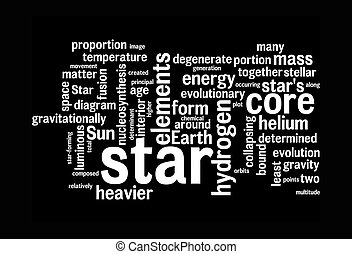 star word clouds