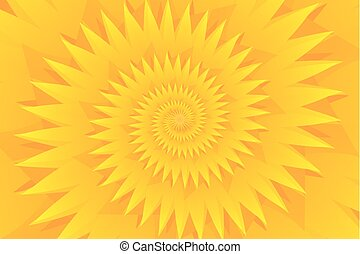 Star yellow abstract vector pattern