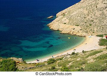 Stara Baska beach 11