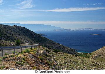 Stara Baska coast road 05
