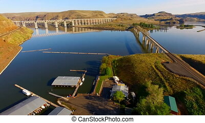 Starbucks lyons Ferry Marina LaCrosse WA Snake River -...