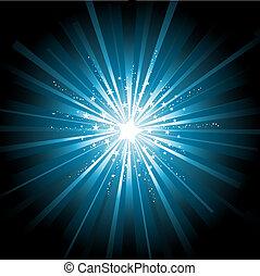 starburst, achtergrond