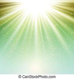 starburst background