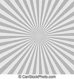starburst, eps10, astratto, fondo., halftone., vettore