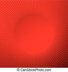starburst, funkeln, linien, form., linien, hell, glänzend, hintergrund, strahlig, sunburst, kreisförmig