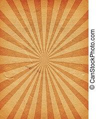 Starburst - Grunge style starburst background