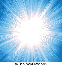 starburst, magisch