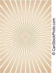 starburst rays background