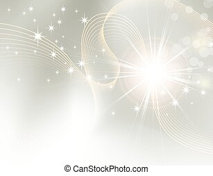 Starburst - sparkle background - Light festive background...