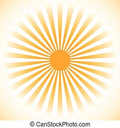 Starburst, sunburst background. Radial lines, stripes with circle at center. Simple monochrome backdrop suitable for print or web use. Can be used as a design element or background