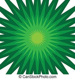 starburst, vert
