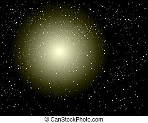 Stardust - Background design of a supernova