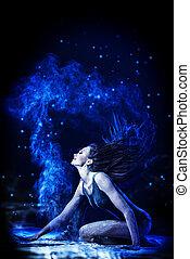 stardust - Beautiful expressive bellet dancer dancing at ...