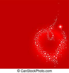 Stardust heart