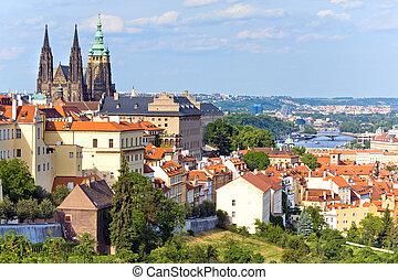 Prague, Czech Republic - Stare Mesto (Old Town) view,...