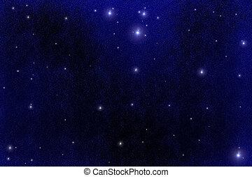 Starfield - A digital created starfield...