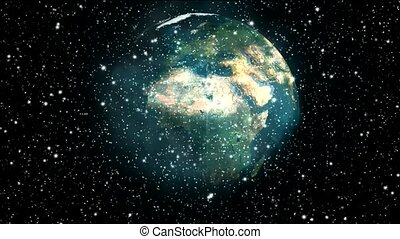 starfield, em, universo, e, super, nova