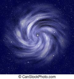 starfield nebula - beautiful big starfield background with...