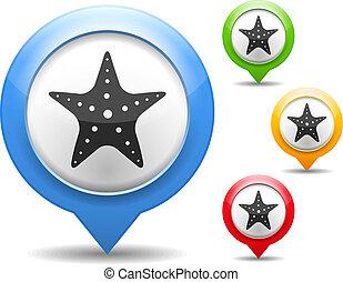 Starfish Icons