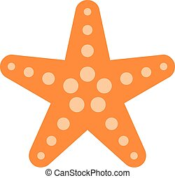 Starfish Sea Creature vector