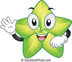 Starfruit Mascot