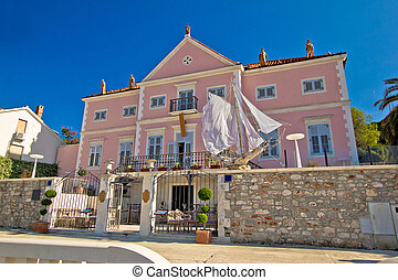 Stari Grad on Hvar island architecture view