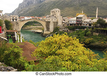 Stari Most, Mostar, Bosnia and Hercegovina, Balkans