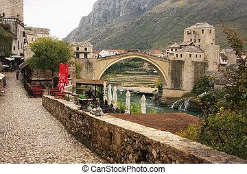 Stari Most, Mostar, Bosnia and Hercegovina, Balkans