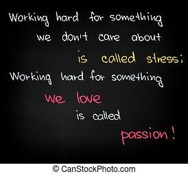 stark arbeiten